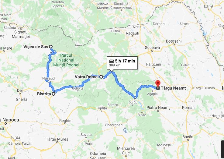 10 Viseu de Sus - Targu Neamt