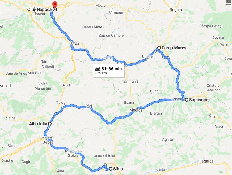 7 Sibiu - Cluj Napoca