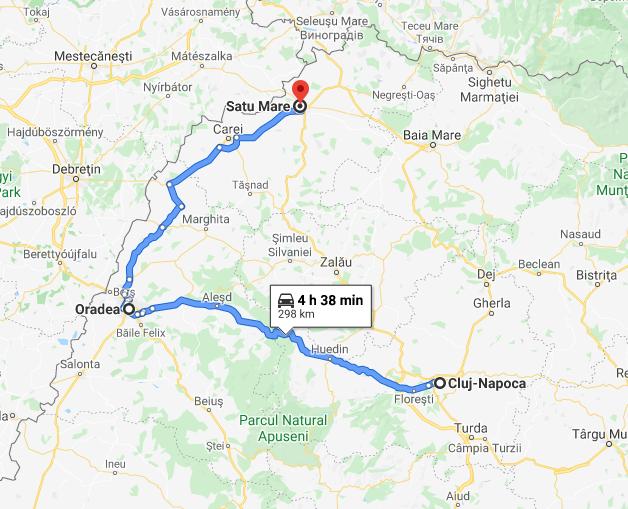 8 Cluj Napoca - Satu Mare
