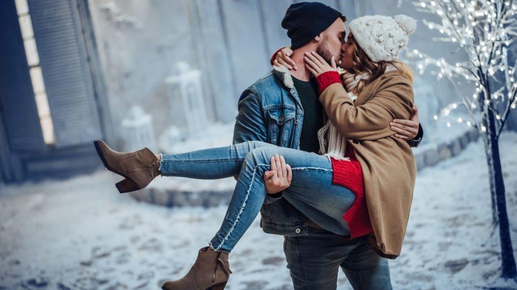 iubit si iubita indragostiti